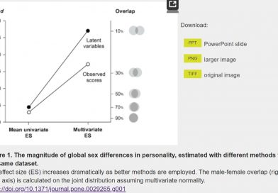 Global Sex Differences in Personality are Large
